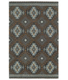 RugStudio presents Kaleen Global Inspirations Glb07-75 Grey Hand-Tufted, Good Quality Area Rug