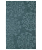 RugStudio presents Kaleen Imprints Classic Ipc01-78 Turquoise Hand-Tufted, Good Quality Area Rug