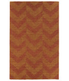RugStudio presents Kaleen Imprints Modern Ipm05-53 Paprika Hand-Tufted, Good Quality Area Rug