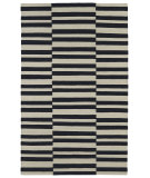 RugStudio presents Kaleen Nomad Nom01-02 Black Flat-Woven Area Rug