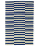 RugStudio presents Kaleen Nomad Nom01-22 Navy Flat-Woven Area Rug