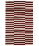 RugStudio presents Kaleen Nomad Nom01-25 Red Flat-Woven Area Rug