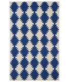 RugStudio presents Kaleen Nomad Nom02-22 Navy Flat-Woven Area Rug