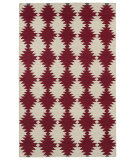 RugStudio presents Kaleen Nomad Nom02-25 Red Flat-Woven Area Rug
