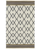 RugStudio presents Kaleen Nomad Nom03-02 Black Flat-Woven Area Rug