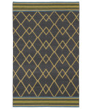 RugStudio presents Kaleen Nomad Nom03-38 Charcoal Flat-Woven Area Rug