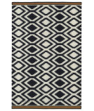 RugStudio presents Kaleen Nomad Nom04-02 Black Flat-Woven Area Rug