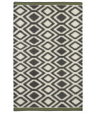 RugStudio presents Kaleen Nomad Nom04-75 Grey Flat-Woven Area Rug