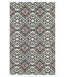 RugStudio presents Kaleen Nomad Nom05-02 Black Flat-Woven Area Rug