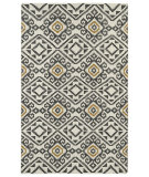 RugStudio presents Kaleen Nomad Nom05-38 Charcoal Flat-Woven Area Rug