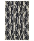 RugStudio presents Kaleen Nomad Nom06-02 Black Flat-Woven Area Rug