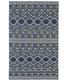 RugStudio presents Kaleen Nomad Nom08-17 Blue Machine Woven, Good Quality Area Rug