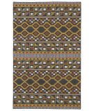 RugStudio presents Kaleen Nomad Nom08-38 Charcoal Machine Woven, Good Quality Area Rug