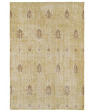 RugStudio presents Kaleen Restoration Res01-05 Gold Hand-Knotted, Better Quality Area Rug