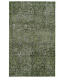 RugStudio presents Kaleen Restoration Res01-50 Green Hand-Knotted, Better Quality Area Rug