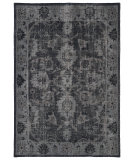 RugStudio presents Kaleen Restoration Res02-02 Black Hand-Knotted, Better Quality Area Rug