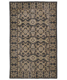 RugStudio presents Kaleen Restoration Res04-02 Black Hand-Knotted, Better Quality Area Rug
