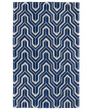 RugStudio presents Kaleen Revolution Rev01-22 Navy Hand-Tufted, Good Quality Area Rug