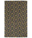 RugStudio presents Kaleen Revolution Rev01-28 Yellow Hand-Tufted, Good Quality Area Rug