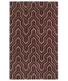 RugStudio presents Kaleen Revolution Rev01-87 Plum Hand-Tufted, Good Quality Area Rug