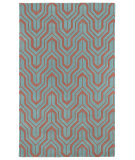 RugStudio presents Kaleen Revolution Rev01-92 Pink Hand-Tufted, Good Quality Area Rug