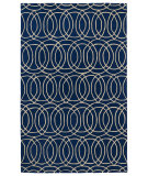 RugStudio presents Kaleen Revolution Rev02-22 Navy Hand-Tufted, Good Quality Area Rug