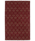 RugStudio presents Kaleen Revolution Rev02-25 Red Hand-Tufted, Good Quality Area Rug