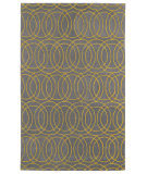 RugStudio presents Kaleen Revolution Rev02-28 Yellow Hand-Tufted, Good Quality Area Rug