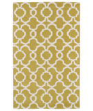 RugStudio presents Kaleen Revolution Rev03-28 Yellow Hand-Tufted, Good Quality Area Rug