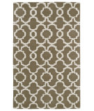 RugStudio presents Kaleen Revolution Rev03-82 Light Brown Hand-Tufted, Good Quality Area Rug