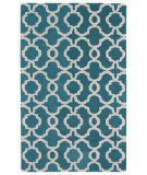 RugStudio presents Kaleen Revolution Rev03-91 Teal Hand-Tufted, Good Quality Area Rug