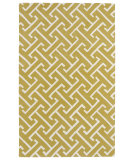RugStudio presents Kaleen Revolution Rev04-28 Yellow Hand-Tufted, Good Quality Area Rug