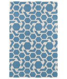 RugStudio presents Kaleen Revolution Rev05-17 Blue Hand-Tufted, Good Quality Area Rug
