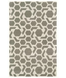 RugStudio presents Kaleen Revolution Rev05-75 Grey Hand-Tufted, Good Quality Area Rug