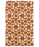RugStudio presents Kaleen Revolution Rev05-89 Orange Hand-Tufted, Good Quality Area Rug