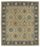 RugStudio presents Kaleen Taj Taj03-05 Gold Hand-Tufted, Good Quality Area Rug
