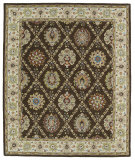 RugStudio presents Kaleen Taj Taj03-40 Chocolate Hand-Tufted, Good Quality Area Rug