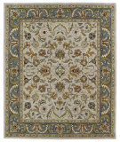RugStudio presents Kaleen Taj Taj04-27 Taupe Hand-Tufted, Good Quality Area Rug
