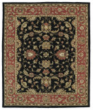 RugStudio presents Kaleen Taj Taj08-02 Black Hand-Tufted, Good Quality Area Rug