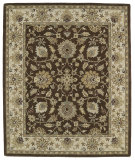 RugStudio presents Kaleen Taj Taj09-40 Chocolate Hand-Tufted, Good Quality Area Rug