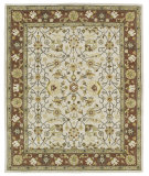 RugStudio presents Kaleen Taj Taj15-01 Ivory Hand-Tufted, Good Quality Area Rug