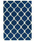 RugStudio presents Kaleen Trends Trn01-22 Navy Hand-Tufted, Good Quality Area Rug