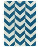RugStudio presents Kaleen Trends Trn02-78 Turquoise Hand-Tufted, Good Quality Area Rug
