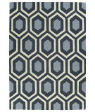 RugStudio presents Kaleen Trends Trn03-38 Charcoal Hand-Tufted, Good Quality Area Rug