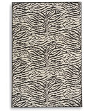 RugStudio presents Karastan Exotics Mystical Zebra 358-45054 Hand-Tufted, Best Quality Area Rug