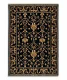 RugStudio presents Karastan English Manor William Morris Black 2120-514 Machine Woven, Better Quality Area Rug