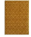 RugStudio presents Karastan Woven Impressions Diamond Ikat Curry 35502-21141 Machine Woven, Better Quality Area Rug