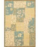 RugStudio presents Karastan Sierra Mar Jakarta Batik Robin's Egg Machine Woven, Good Quality Area Rug