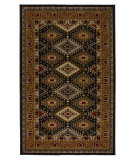 RugStudio presents Karastan Crossroads Addison Black 38260-15104 Machine Woven, Good Quality Area Rug