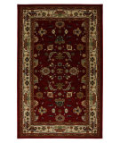 RugStudio presents Karastan Crossroads Powell Garnet 38260-15107 Machine Woven, Good Quality Area Rug